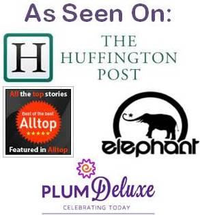 As seen on Huffington Post, elephant journal, Alltop