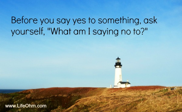 Saying Yes - Being a People Pleaser