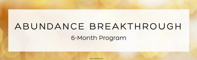 6-Month Abundance Coaching Program