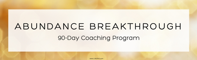 Abundance Coaching Program 90 Day