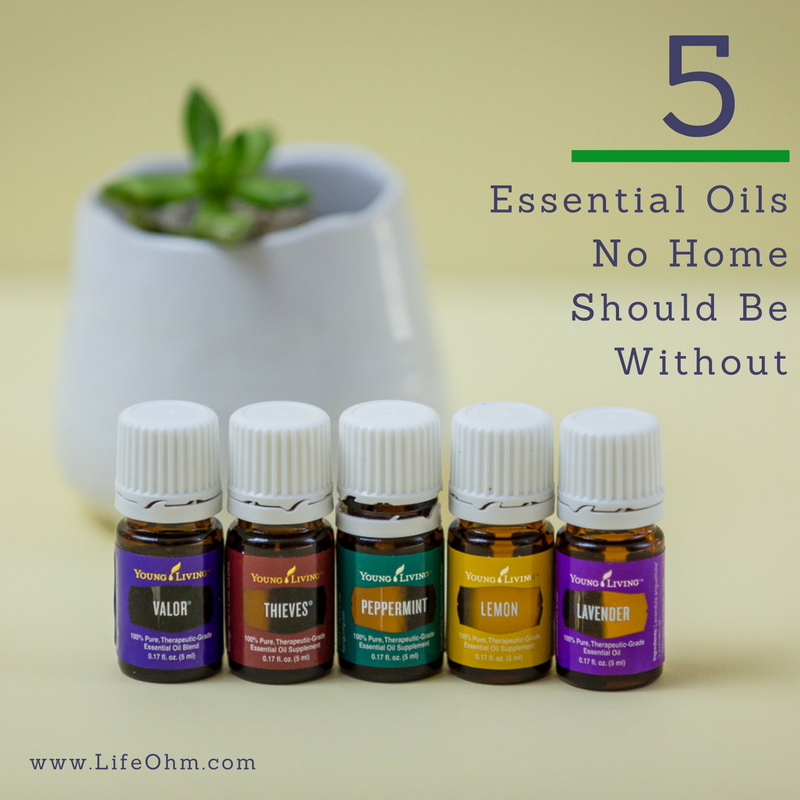 5 Must Have Essential Oils