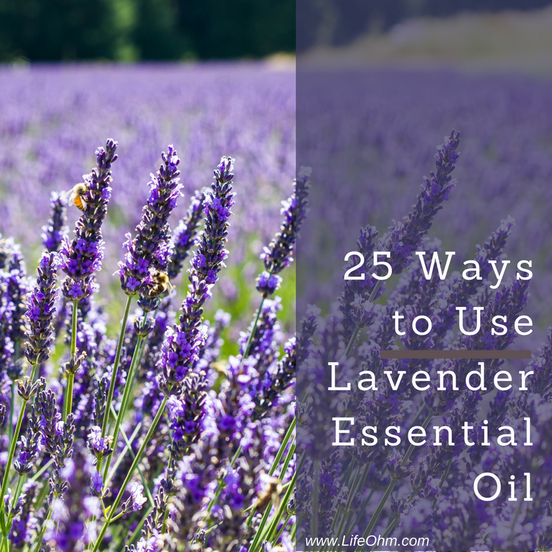 25 Ways to Use Lavender Essential Oil